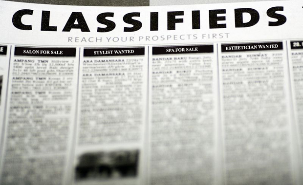 Classified advertisement can have erotic consequences